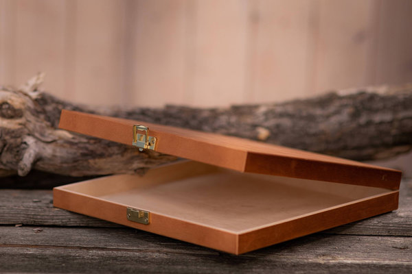 Wooden box for photo album